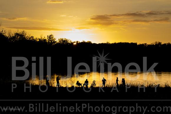Prairie Oaks Sunset